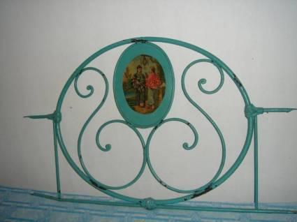 Dos camas antiguas de hierro coleccionismo portal para - Camas antiguas de hierro ...