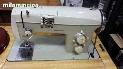 Maquina de coser sigma-super automatica | Coleccionismo